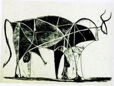 El toro, lámina 6 (Picasso)