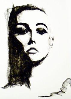 Charcoals, Pencil linework, prints   Lee Woodman