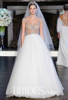 Alon Livne White Wedding Dresses - Fall 2016 - Bridal Runway Shows - Brides.com : Brides.com