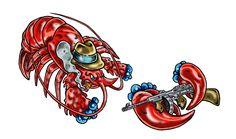 """Vedi il mio progetto @Behance: """"Mob Lobster / PUZZLE"""" https://www.behance.net/gallery/59430117/Mob-Lobster-PUZZLE"""