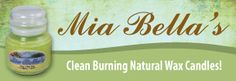 Mia Bella Candles...the best candle to burn.  www.hjccandles.scent-team.com