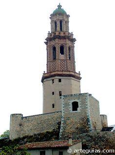 Fortín de la torre mudéjar o torre de la Alcudia. Jérica. Castellón