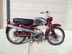 1964 Honda C110  50cc OHV engine with 4 spd transmission