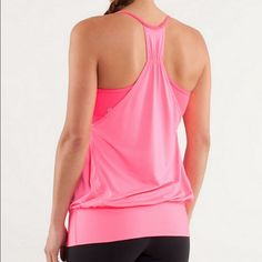 Lululemon no limits tank In good used condition. lululemon athletica Tops Tank Tops
