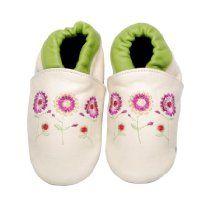 Bibi and Mimi Infants Flower Booties