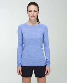 This top is perfect for layering over a tank on a longer run.