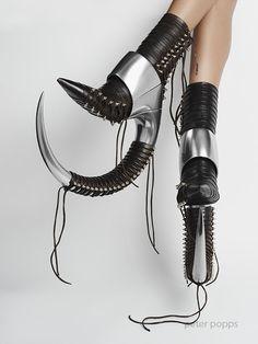 Os calçados conceituais Peter Popps