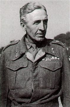 Lieutenant-General Sir Brian Gwynne Horrocks, KCB, KBE, DSO, MC (7 September 1895 – 4 January 1985) was a British Army officer. He is chiefly remembered as the commander of XXX Corps in Operation Market Garden and other operations during the Second World War