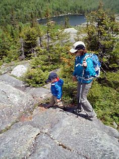 Tips for Hiking with Kids- love the idea of each kid having a whistle in case they get lost.