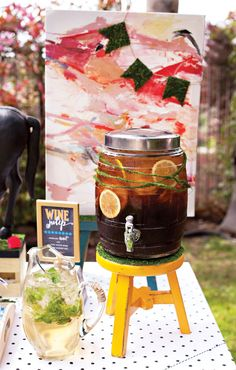 {Festive & Elegant} Kentucky Derby® Garden Party // Hostess with the Mostess® Derby Time, Derby Day, Southern Sweet Tea, Strawberry Mojito, Picnic Theme, Mint Salad, Ice Cream Social, Kentucky Derby, Fresh Fruit