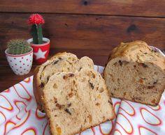 Panettone en panificadora | El blog de Lucía Food N, Bread Recipes, Blog, Kitchen, Panettone, Gastronomia, Tart Recipes, Sweet Desserts, Breads