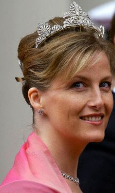 May 2004...A lovely shot of HRH Sophie, Countess of Wessex at the wedding of Prince Frederik and Mary of Denmark.