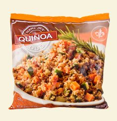 Trader Joe's Quinoa Duo- I just ate some for dinner and it is so delicious! I didn't have to put a thing on it!