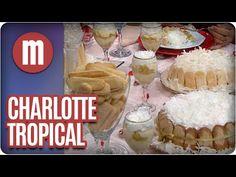Charlotte tropical — Receitas