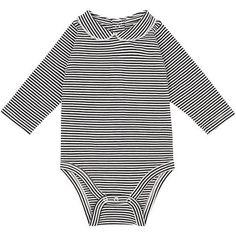Baby Bugz Organic Cotton Bodysuit 100/% Cotton White//Cream//Black