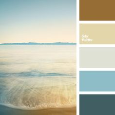 Light, almost weightless palette as the gentle touch of sea breeze. Such natural, natural colors create an atmosphere of calm and smooth. Scheme Color, Beige Color Palette, Colour Schemes, Beige Colour, Color Combinations, Design Seeds, Grey Yellow, Mellow Yellow, Palette Design