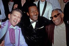 Jerry lee Lewis, Chuck Berry and Ray Charles