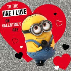 Minion valentine ecards