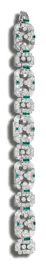 Frivolous Fabulous - Diamonds and Emeralds 1925