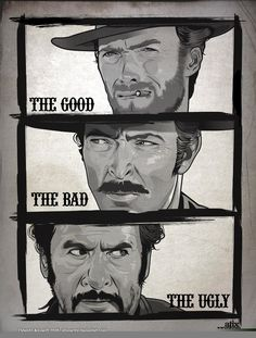 love this film more then life!!  the good the bad and the ugly client eastwood