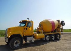 is the source for used mixer trucks in the world. Welsh sells used mixer trucks, specializing in export sales. Semi Trucks, Big Trucks, Types Of Concrete, Equipment Trailers, Mixer Truck, Concrete Mixers, Construction, American, Cement