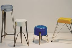 tachtit stools abandoned containers bezalel academy of arts and design designboom