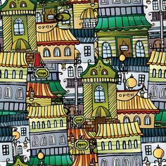 рисунок город - Поиск в Google