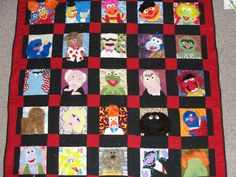It's time to meet the Muppet quilt! - QUILTING
