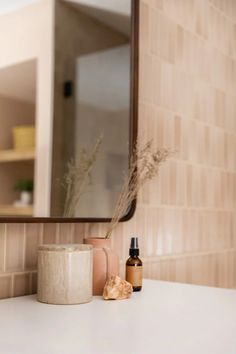 Mediterranean Home Interior Building Home. Our basement bathroom oasis is also full of utility for our guests and life. See how we created it all with Fireclay Tile. Fireclay Tile, Living Vintage, Tadelakt, Small Basements, Boho Bathroom, Bathroom Modern, Bathroom Inspo, Beautiful Bathrooms, Boho Home