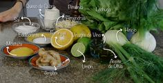 Busca en tu cocina todo lo que te mostramos acá y en cuestión de minutos, estarás disfrutando de una rica Ensalada de Hinojos. #PataCook