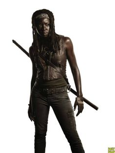The Walking Dead 4ª Temporada: Michonne.