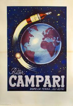 Bitter Campari, 1958