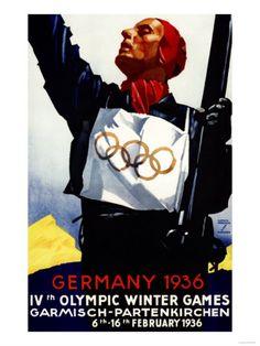 1936 Winter Olympics in Germany