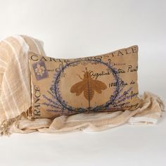 Pierette's My French Family Pillow Cover, IV