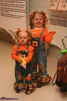 Cute Scarecrows - 2013 Halloween Costume Contest via @costumeworks