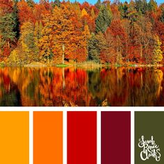 25 Color Palettes Inspired by the Pantone Fall/Winter 2018 Color Trends – Izabela ;))) 25 Color Palettes Inspired by the Pantone Fall/Winter 2018 Color Trends Autumn color palette Fall Color Schemes, Color Schemes Colour Palettes, Colour Pallette, Color Trends, Rustic Color Schemes, Orange Color Schemes, Orange Color Palettes, Color Palette For Home, Spring Color Palette