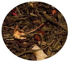 """""""Té Rojo y Verde Silueta"""" Té rojo Pu-Erh y té verde con kiwi, fresa, hibisco, piña y escaramujo. 8€ / 100gr."""