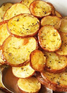 Low FODMAP & Gluten free Recipe - Lemon oregano potatoes www.ibssano.com/...