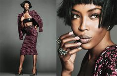 """News: Take a look at supermodel legend Naomi Campbell's newest interview for NET-A-PORTER.COM's The Edit! """"I want people to really understand what the world of modeling is about, and how hard we work. . ."""""""