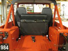 LOL just poking fun I think I have some OEM rear fold and tumble brackets. Cj Jeep, Jeep Cj7, Under The Lights, Jeep Life, Rear Seat, 4x4, Vehicle, Restoration, Future