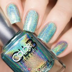 Swatch of Color Club Angel Kiss Nail Polish (Halo Hues Collection)