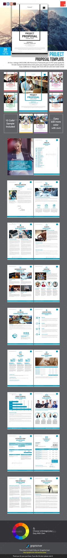Project Proposal Template  Minimalist  Project Proposal