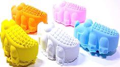 DIY How To Make Colorful Crocodiles Kinetic Sand Ep 001 Let'sYu@Hui