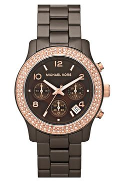 Amazing watch! Love the pink and Brown! Great color combo <3