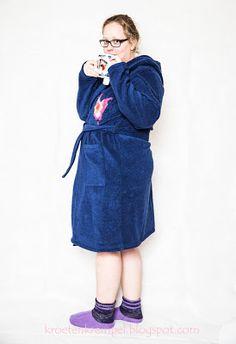 krötenkrempel: Lillesol Woman No16 - Bademantel - Probenähen