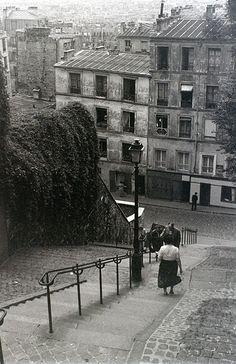 Montmartre, Paris, 28 July 1955