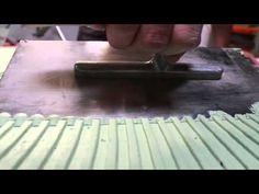 Πατητή Τσιμεντοκονία Marmoline - YouTube Decoration, Triangle, Flooring, Youtube, Ideas, Dekoration, Dekorasyon, Decorating, Floor