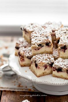 Cottage cheese and cherry cake