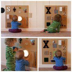 http://funathomewithkids.blogspot.com/2013/02/sensory-boards-infant-x-already-has-lot.html