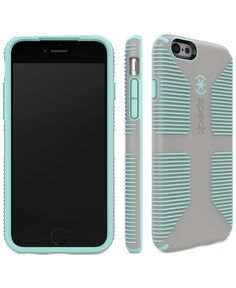Speck combines a high-grip surface with customized protection in this durable phone case for iPhone 6/6s. | Polyvinyl chloride/polypropylene/thermoplastic elastomer | Clean with cleaning cloth | Impor